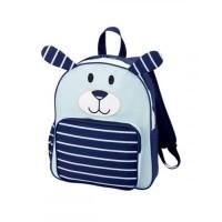Navy Puppy Preschool Backpack