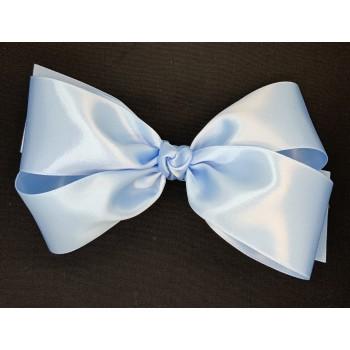 Blue (312 Blue) Satin Bow - 7 Inch