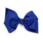 Blue (Century Blue) Grosgrain Bow - 4 Inch