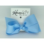 Blue 312 Grosgrain Bow - 4 Inch