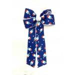 Popsicle Pico Stitch Bow w/ Tails - 5 Inch