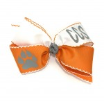 Corpus Christi Two Tone Bow - 7 Inch