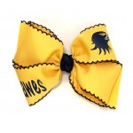 Dawes Yellow Gold (Navy Pico) Bow - 6 Inch