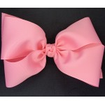 Pink (150 Pink) Grosgrain Bow - 8 Inch