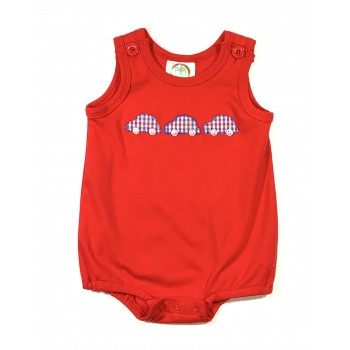 Unisex Bubble - Red / 3 Cars