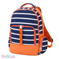 Line Up - Orange/Navy Backpack