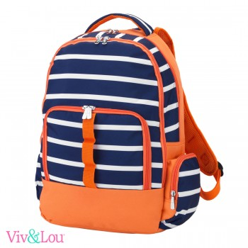 Line Up - Orange/Navy Backpack